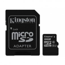 Kingston microSDHC, Class10, 16GB